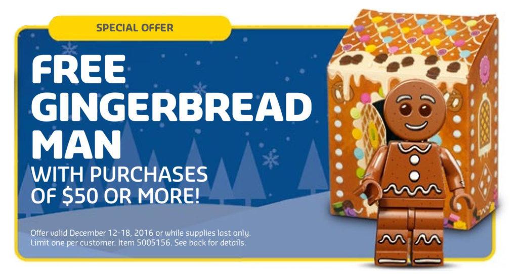 LEGO Gingerbread Man Minifigure (5005156)