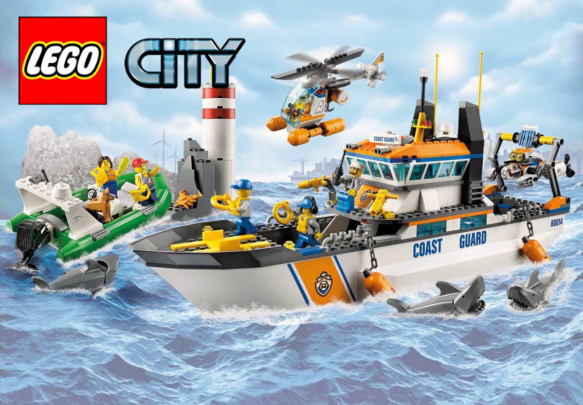 Brickfinder - LEGO City Coast Guard To Return In 2017