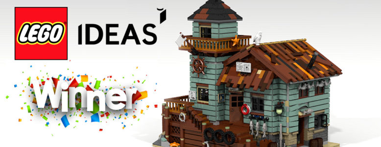 LEGO Ideas Winner: The Old Fishing Boat House