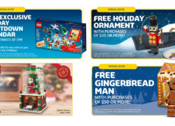 LEGO Brand Store promotions 2016