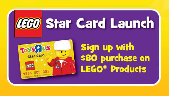 LEGO Toys 'R' Us Star Card