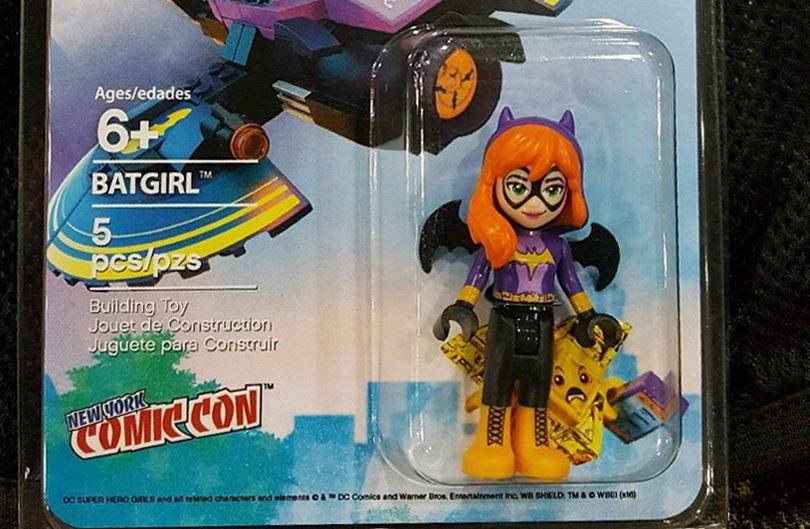 LEGO NYCC Exclusive Batgirl Minidoll