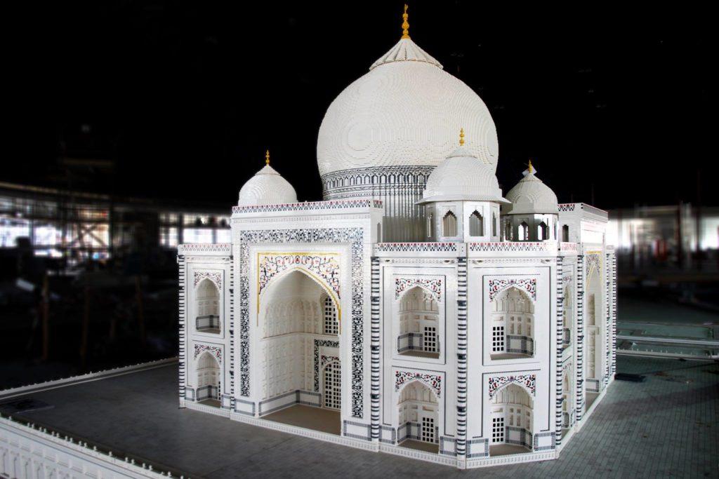 LEGO Taj Mahal at Legoland Dubai
