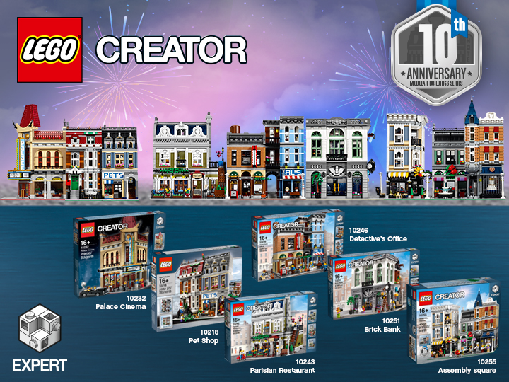 LEGO ReBrick Modular Building Anniversity Contest