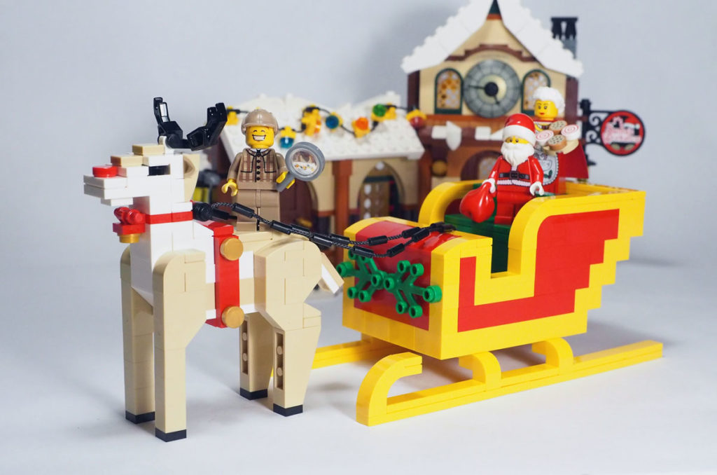 LEGO Reindeer by LEGO Certified Professional Nicholas Foo