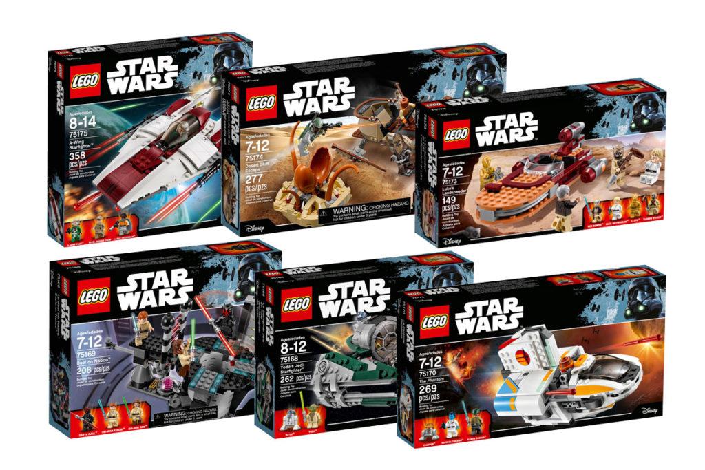 More LEGO Star Wars 2017 sets revealed