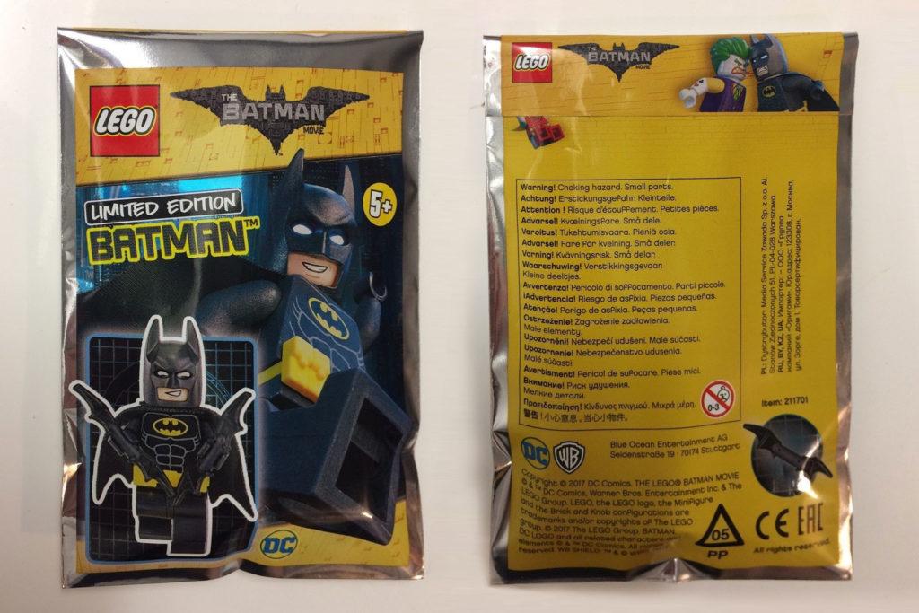 The LEGO Batman Movie Minifigure Foil Pack
