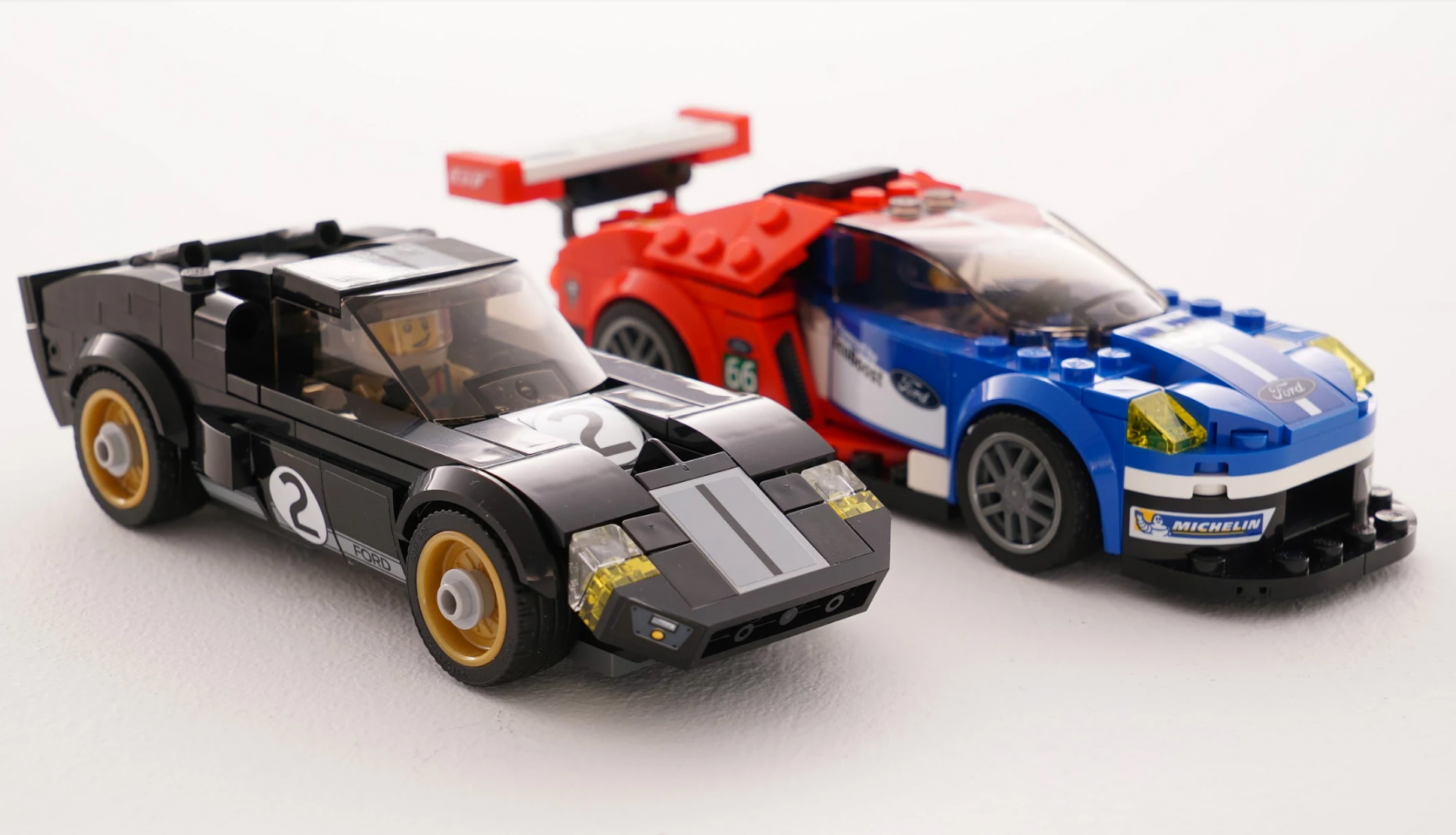 brickfinder lego speed champions ford gt and ford gt40. Black Bedroom Furniture Sets. Home Design Ideas