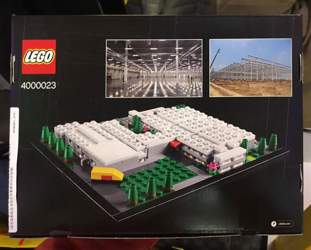 LEGO Jiaxing Factory (4000023) Set - Back