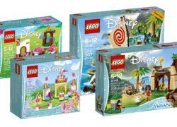 LEGO Disney Moana Sets and Palace Pets sets for 2017