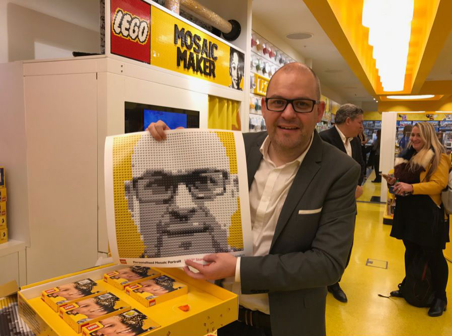 Brickfinder Leicester Square Lego Store Opening