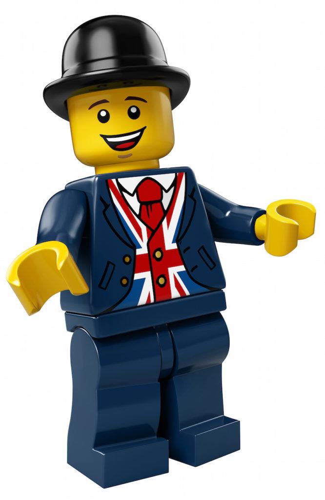 Lester Minifigure Mascot