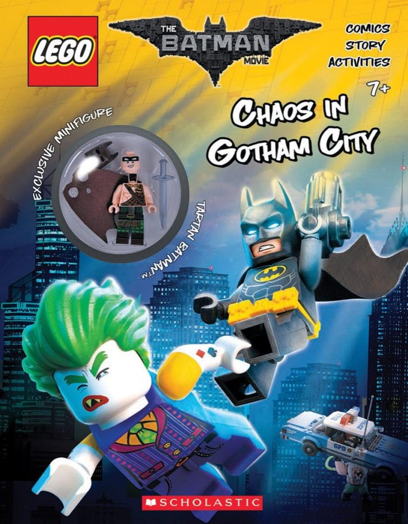 LEGO Chaos in Gotham City book by Scholastic