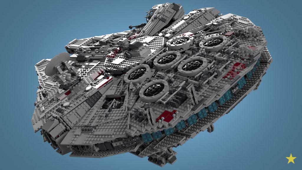 10179 Star Wars Millennium Falcon UCS © el presidente