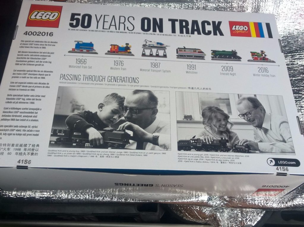 """LEGO """"50 Years on Track"""" (4002016)"""