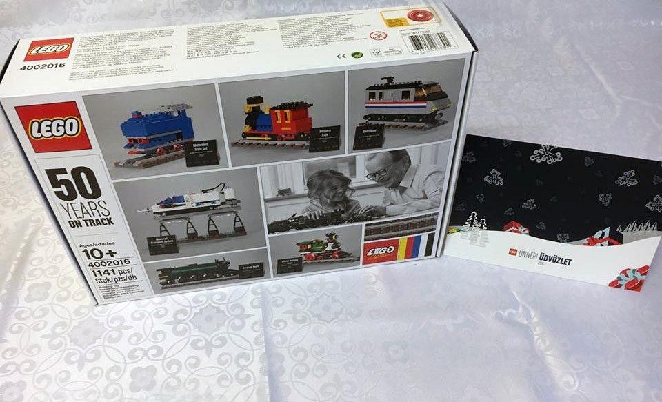 LEGO Employee Gift + Card