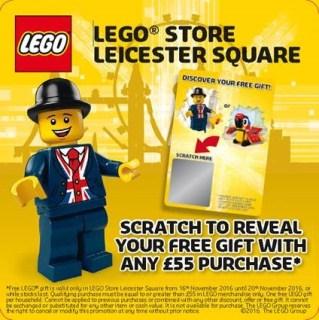 LEGO Lester Minifigure Mascot
