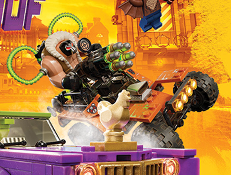 LEGO Batman Movie Posters Reveal Bane's Ride