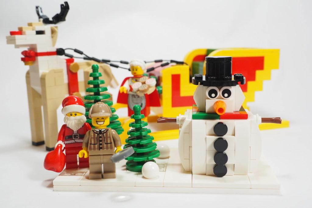 LEGO Snowman by Nicholas Foo (LCP)