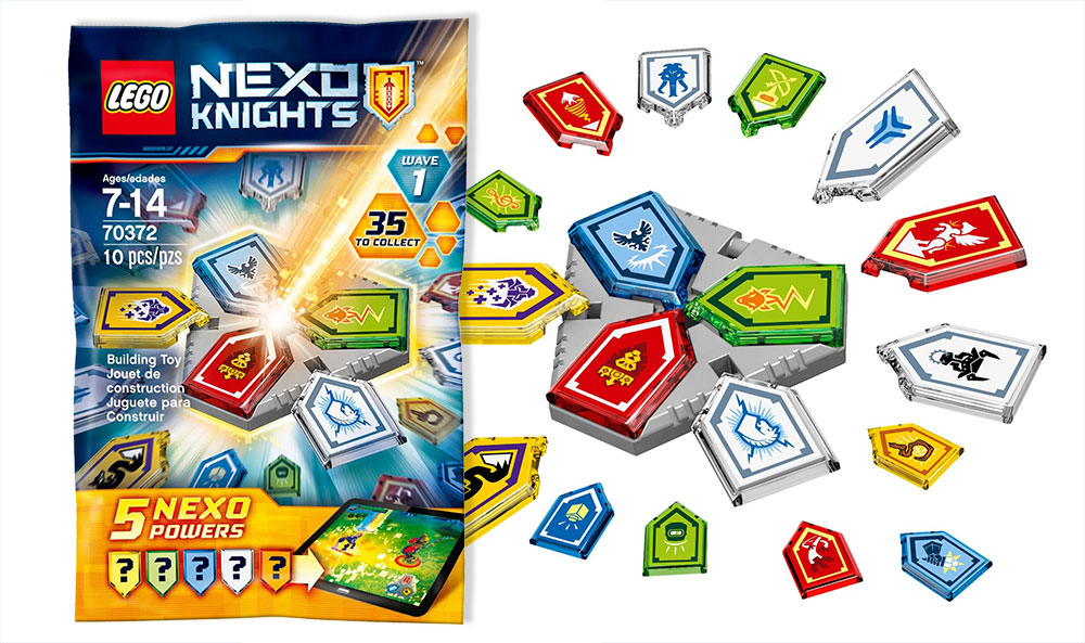 LEGO NEXO Knights Powers Wave 1 (70372) Blind Bags