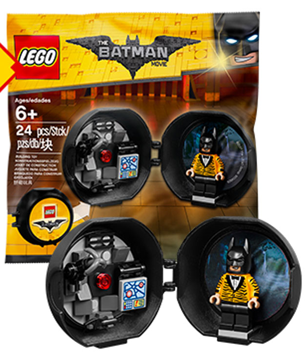 LEGO Batman Movie Tiger Print Batsuit