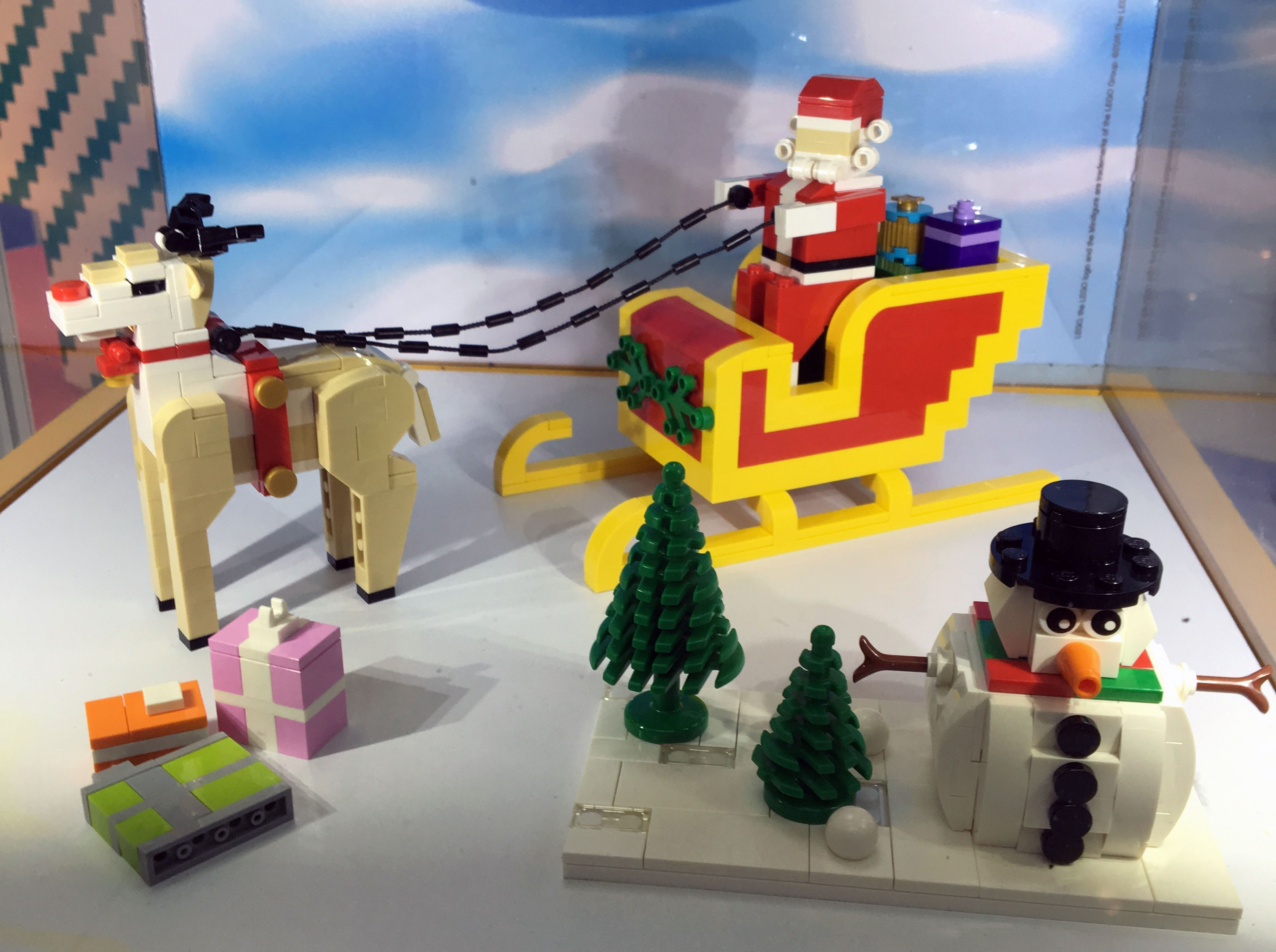 lego christmas mini builds