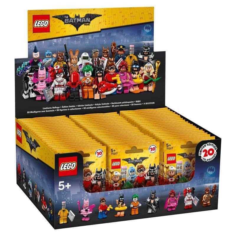 The LEGO Batman Movie Minifigure Series - Contents ©Brothers-Brick