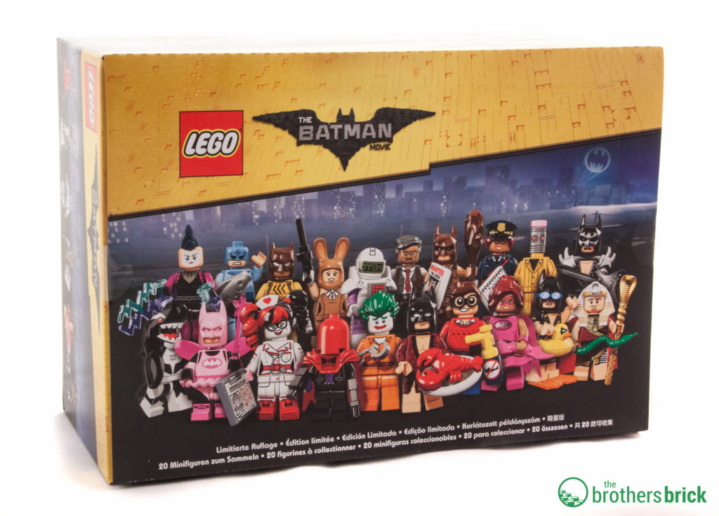 The LEGO Batman Movie Minifigure Series Box Art ©Brothers-Brick