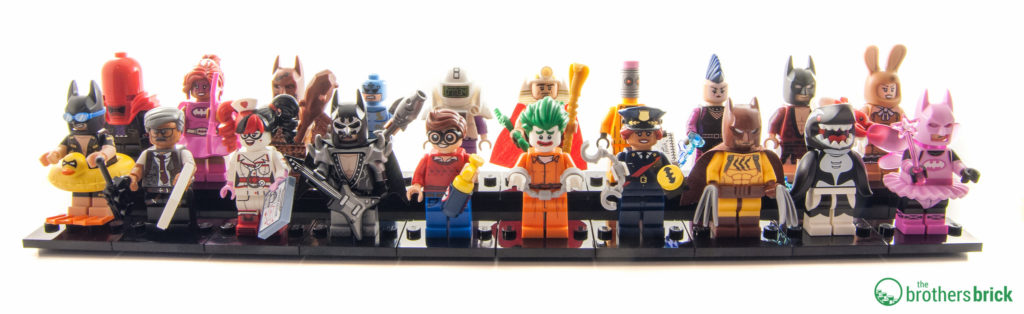 The LEGO Batman Movie Minifigure Series - Complete line up ©Brothers-Brick