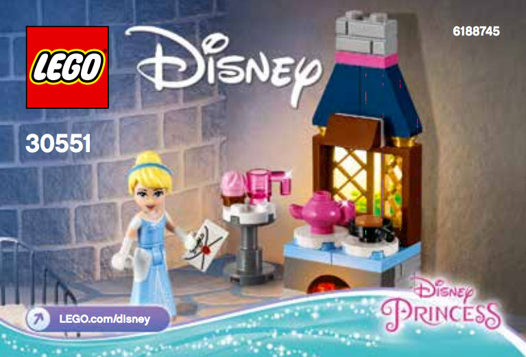 LEGO Cinderella's Kitchen Polybag Discovered