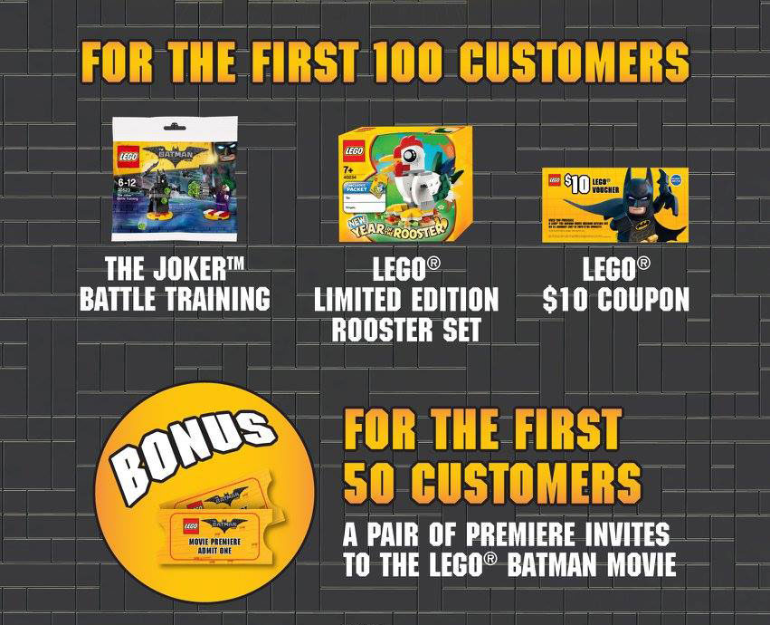 LEGO Batman Movie Arkham Asylum Launch Details (Singapore)