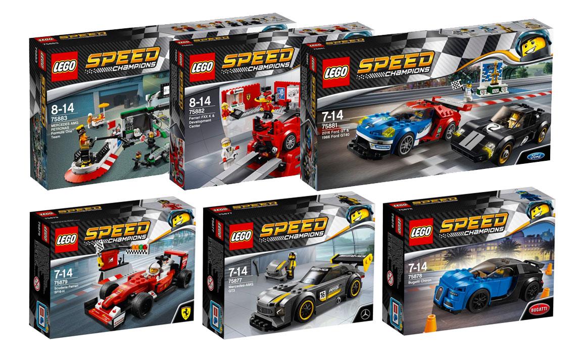 Brickfinder Lego Speed Champions 2017 Official Box Art