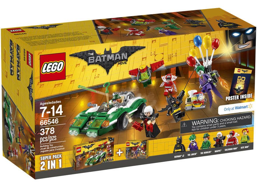 LEGO Batman Movie 2-in-1 Super Pack Found