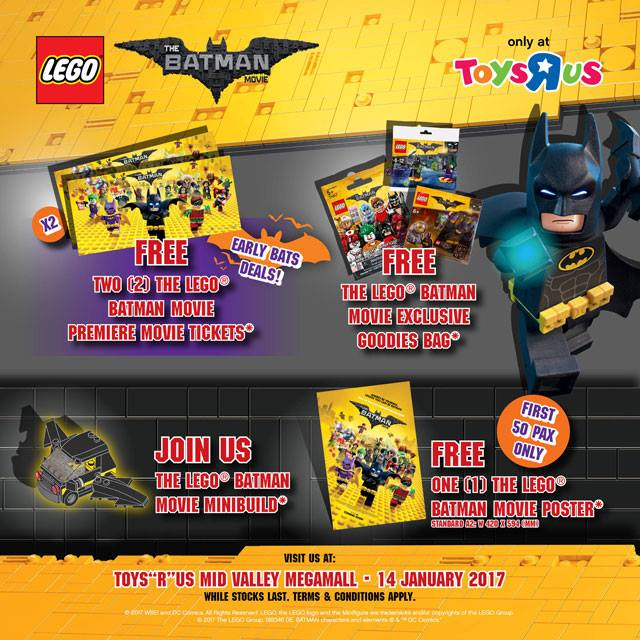 LEGO Batman Movie Launch Details (Malaysia)