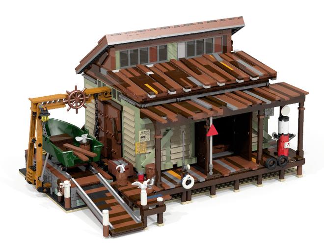 LEGO Boat House