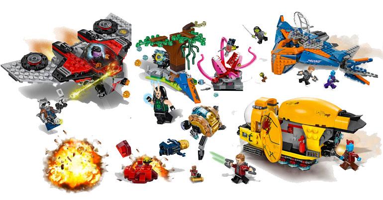 LEGO Guardians of the Galaxy Vol.2 Hi-Res Photos