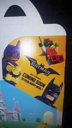 LEGO Batman Movie Coming To A Happy Meal Near You