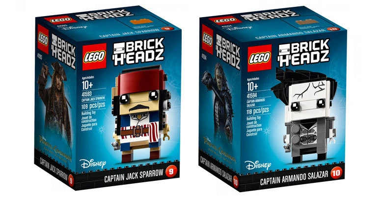 LEGO BrickHeadz Pirates of the Caribbean Official Photos
