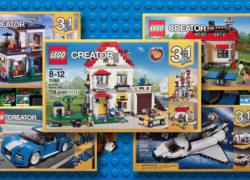 LEGO Creator 2017 Round Up