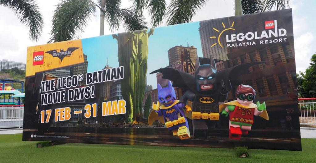 LEGOLAND® Malaysia Batman Movie Days Activity Guide