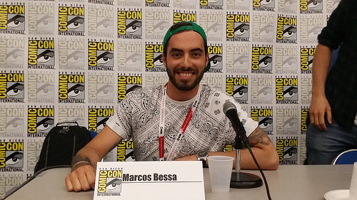 Marcos Bessa, Senior LEGO Designer ©SDCC