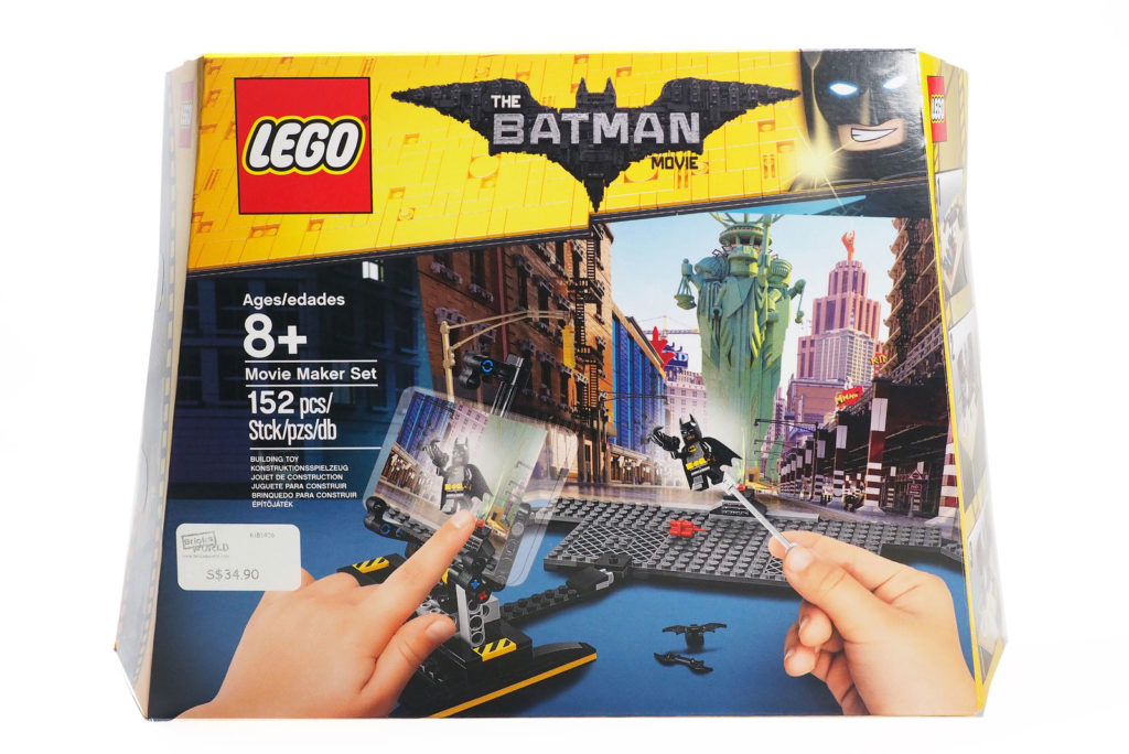 Review: LEGO Batman Movie Maker (853650)