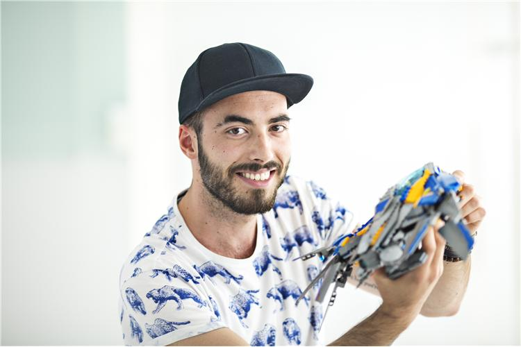 Marcos Bessa, Senior LEGO Designer ©LUG Brazil