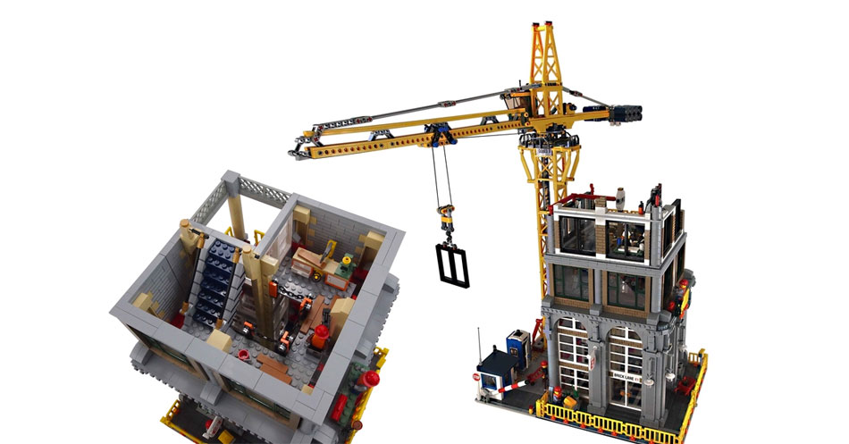 Brickfinder lego ideas modular construction site ldd for Building builder online