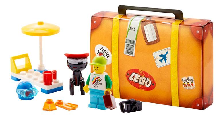 LEGO Travel Building Suitcase