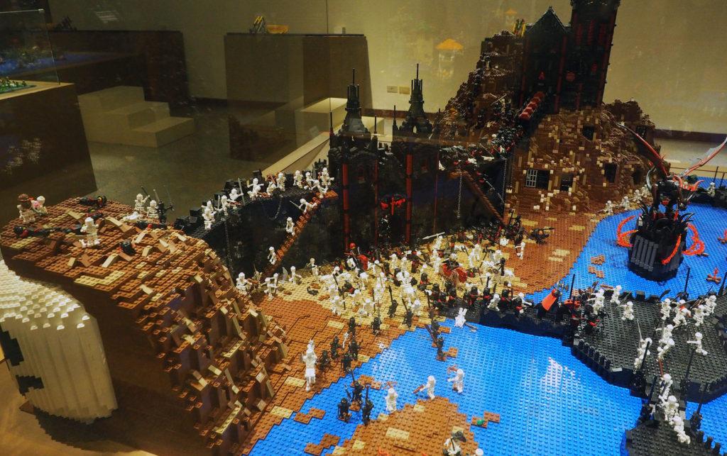 LEGO Fantasy Castle Exhibit