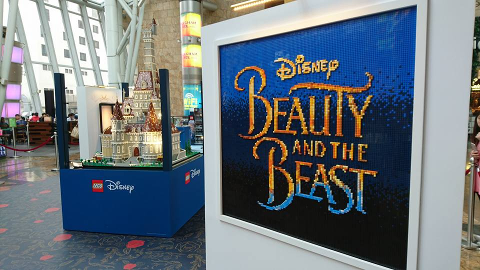 LEGO Beauty and the Beast at Langham Place