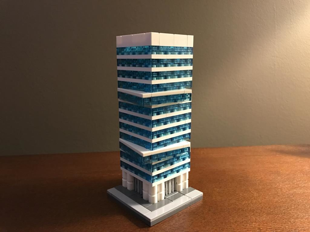 lego office building. Modern Office Building By Hiddeninput Lego