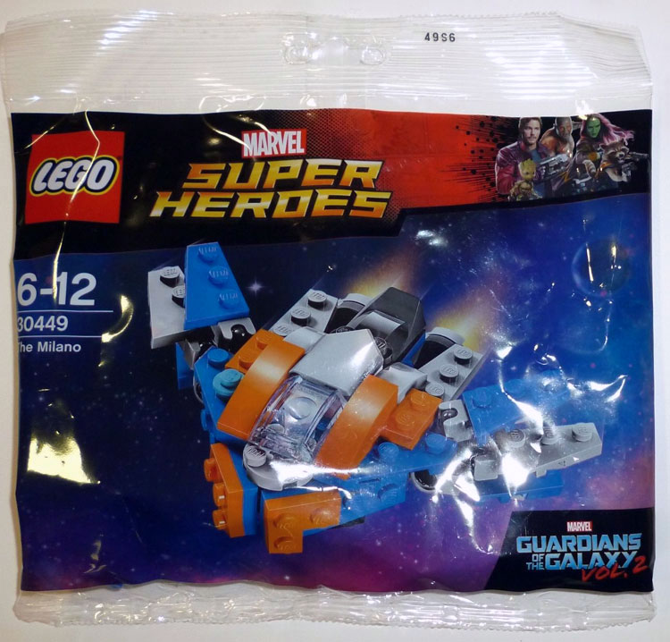 LEGO Marvel Superheroes GotG: The Milano Polybag First Look