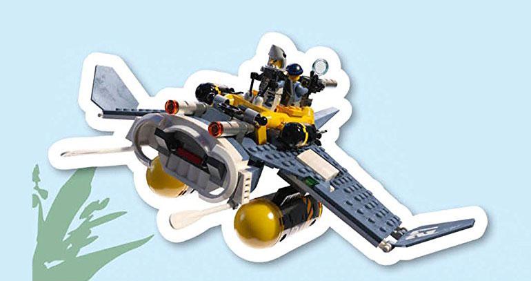 LEGO Ninjago Movie Manta Ray Bomber (70609)